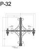 "P-32, 59"" Post Arm (3/4"" NPT) Thumbnail"