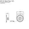 1/2 Mounting Plate Thumbnail
