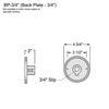 3/4 Mounting Plate Thumbnail