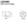 LED Stem Mount Canopy Thumbnail