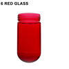 6 Red Glass Thumbnail