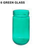 6 Green Glass Thumbnail