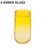 6 Amber Glass Thumbnail