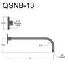 """QSNB-13, 24"""" Arm Thumbnail"""