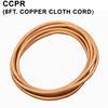 Standard 8ft copper Cloth Cord Thumbnail