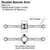 "10"" Double Banner Arm Thumbnail"