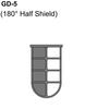 180 Degree Half Shield Guard Thumbnail