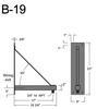 """B-19, 18"""" Arm (3/4"""" NPT) Thumbnail"""