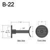 """B-22, 7"""" Arm (3/4"""" NPT) Thumbnail"""