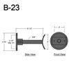 """B-23, 10"""" Arm (3/4"""" NPT) Thumbnail"""