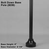 Bolt Down Base Pole Thumbnail