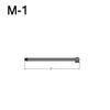 """M-1, 7"""" Mini Straight Arm Thumbnail"""