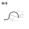 "M-9, 8"" Mini Gooseneck W/Scroll Thumbnail"