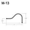 """M-13, 8"""" Mini Gooseneck Thumbnail"""