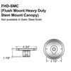 Heavy Duty Flush Mount Canopy for Flat Ceilings Thumbnail