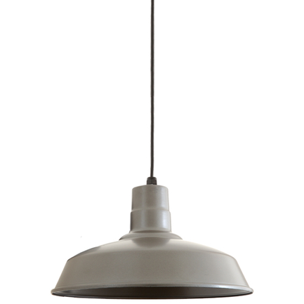 """14"""" RLM shade in 117 painted steel with CB8 mounting"""