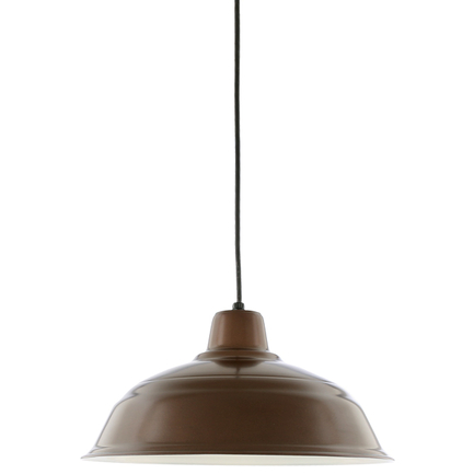 """15"""" RLM shade in 121 Cafe finish with CB8 mounting"""
