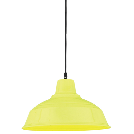 """16"""" RLM shade in 92 yellow finish with CB8 mounting"""