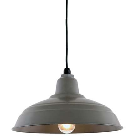 """15"""" RLM shade in 117 Painted Steel finish with CB8 mounting"""