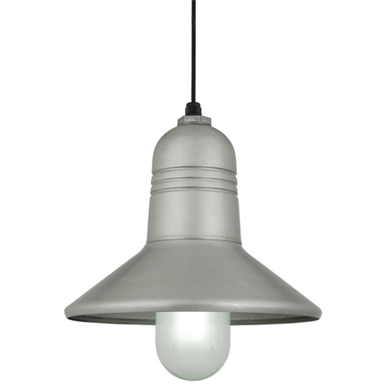 """15"""" shade in 118 Painted Aluminum finish with CB8 mounting"""