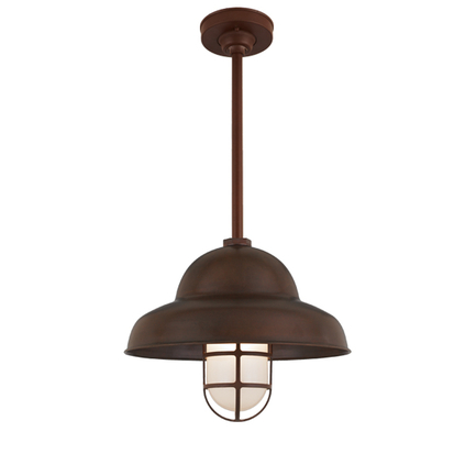 """16"""" shade in 77 rosewood finish, 18"""" ST3 & HSC in 100 dark brown, LCGU with 100 dark brown guard & f"""
