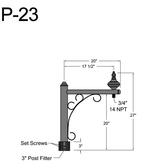 P-23 Post Arm
