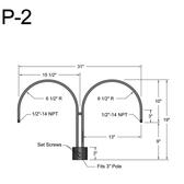 P-2 Post Arm
