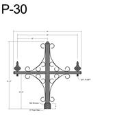 P-30 Post Arm
