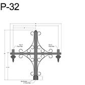 P-32 Post Arm