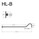 HL-B Gooseneck Arm