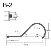 B-2 Gooseneck Arm