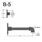 B-5 Straight Arm