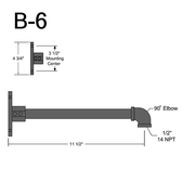 B-6 Straight Arm