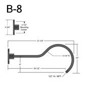 B-8 Gooseneck Arm