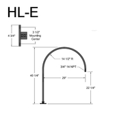 HL-E Roof Mounted Arm