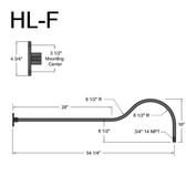 HL-F Gooseneck Arm