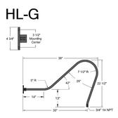 HL-G Gooseneck Arm