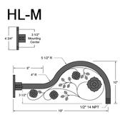 HL-M Gooseneck Arm