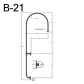 B-21 Gooseneck Arm