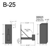 B-25 Gooseneck Arm
