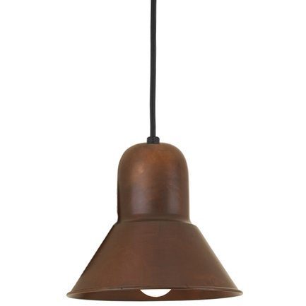 """10"""" shade in 77 rosewood, 8 foot black cord with 91 black canopy"""
