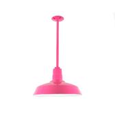 Custom Pink Warehouse Shade