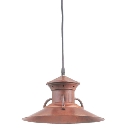 """12"""" shade in 77 Rosewood finish with CB8 mounting"""