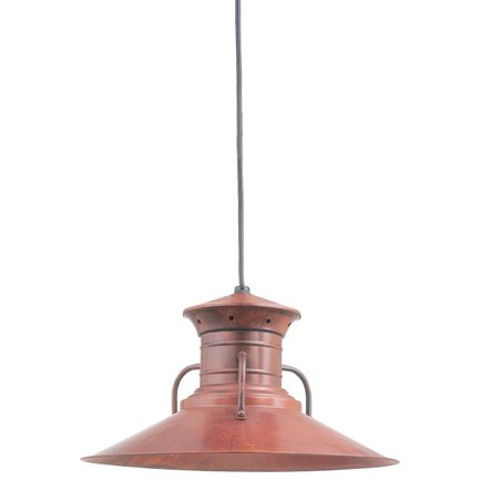 """20"""" shade in 77 rosewood finish with CB8 mounting"""