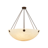 Chain-Hung Ceiling Light