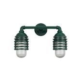 Classic Layered Vapor Jar Duo Wall Light