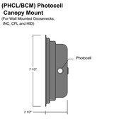 Photocell Canopy Mount