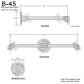 B-45 Gooseneck Arm