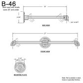 B-46 Gooseneck Arm