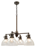 4 Light Antique Chandelier